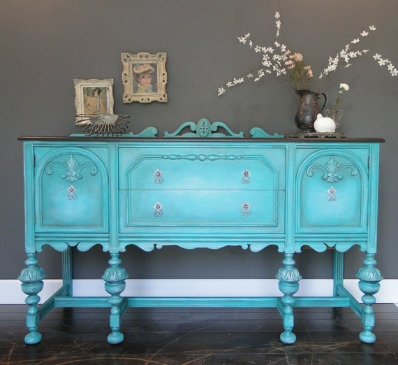 Items Similar To Sold Antique Buffet Sideboard Entry