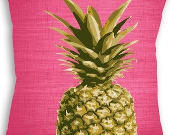 Pineapple - Fruit - Pillow - Fruit Decor - Pineapple Pillow - Custom Pillow - Decorative Pillow - Throw Pillow - Fruit Gift - Home Decor