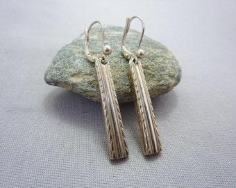 Silver Earrings Silver Drop Dangle Earrings