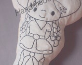 DoodleIts - Doodle It - Cowgirl - Washable Softie - Plushie