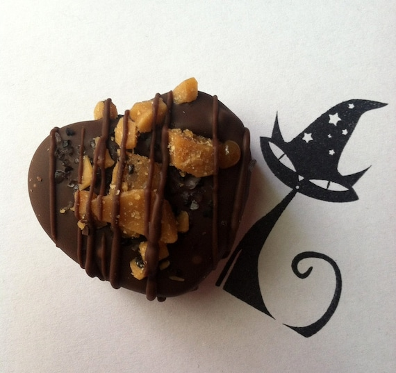 Toffee topped gourmet shortbread caramels TWIX