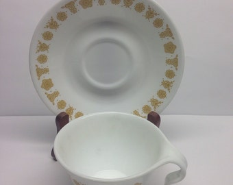 CORELLE BUTTERFLY PATTERN  Cup and Saucer