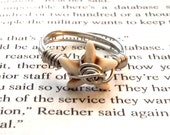 Starfish Silver Wire Wrapped Ring