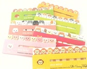 Cute Animal Page Flags/Sticky Notes