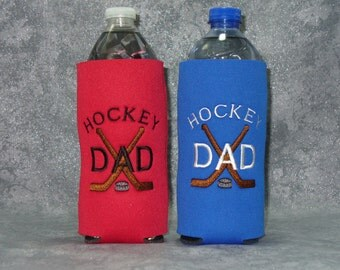 Bottle, Beverage Holder, Hockey Dad, Water Bottle Cozy