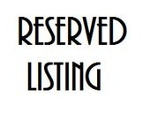 Custom listing for Morgan Minko
