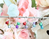 Colored Tinker Bells Stitch Markers