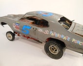 Scale Model Pontiac GTO Car by Classicwrecks in Grey