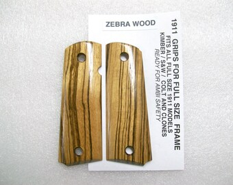1911 Full Sized / Zebrawood