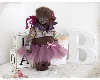 Bear Teddy Bear Natalie 10 inch OOAK