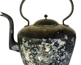 Antique Giant Tea Kettle