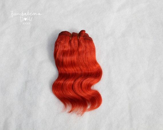 Mohair Weft Doll Hair 5