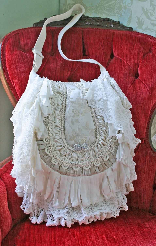 Boho Bohemian Gypsy Hippie Victorian Handbag Boho Chic Purse