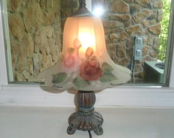 Small Cast Iron Lamp