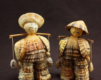 Japanese Sea Shell Men