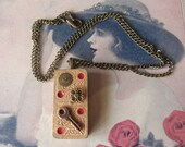 Two by Two Domino Necklace