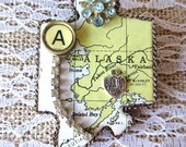 Amazing Alaska State Brooch