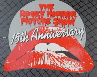 The Rocky Horror Picture Show 15th Anniversary Box Set (includes program)  Dated  1990
