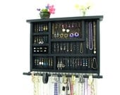 Jewelry Box with ring storage and bangle bar