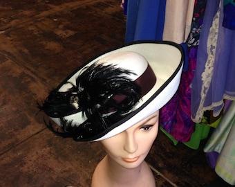 Vintage Straw Bretton Hat