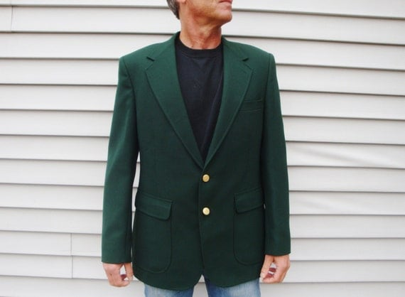 Green Jacket. Men's Blazer Sport Coat Lucky Masters Golf
