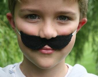 Super Mario Brothers-Felt Luigi Mustache  - Dress Up - Make Believe