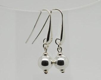 Sterling Silver Ball Earrings 01