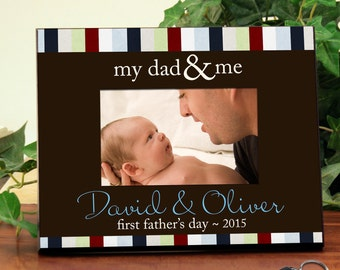 Picture Frame Personalized for Dads : Great for Father's Day, New Dads, or a Favorite Memory