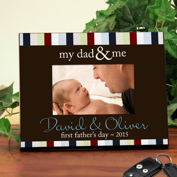 Personalized Frame for Dads : Great for Father's Day, New Dads, or a Favorite Memory