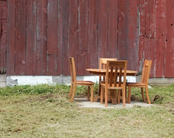 The Rusted Nail Oval Table Dining Set