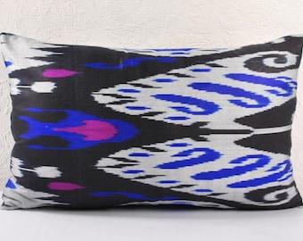 Sale! Ikat Pillow, Hand Woven Ikat Pillow Cover  lip114, Ikat throw pillows, Designer pillows, Decorative pillows, Accent pillows