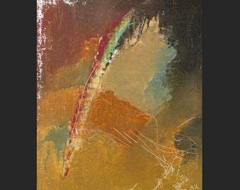 "SALE Oil Painting ""Urban Rainbow"" by B. Kravchenko for SEASTYLE"