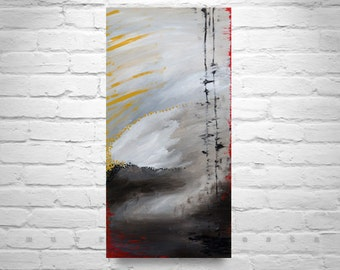 Storm, Original abstract, Acrylic painting