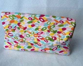 Clutch wallet, colorful clutch