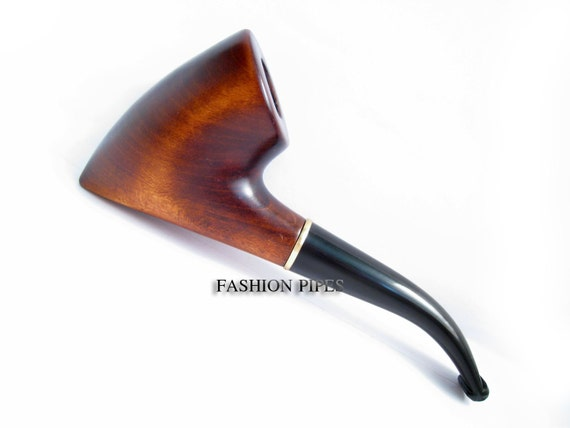 "Exclusive Style Wooden Pipe Tobacco Pipe. Wood pipe Hand Carved Smoking Pipe ""TOMAHAWK"" Best Price in FPS"