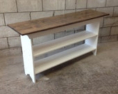 Console Table - Sofa Table - Entryway Table - Book Shelf -  TV Stand -  Pine, 5 Foot, 60""