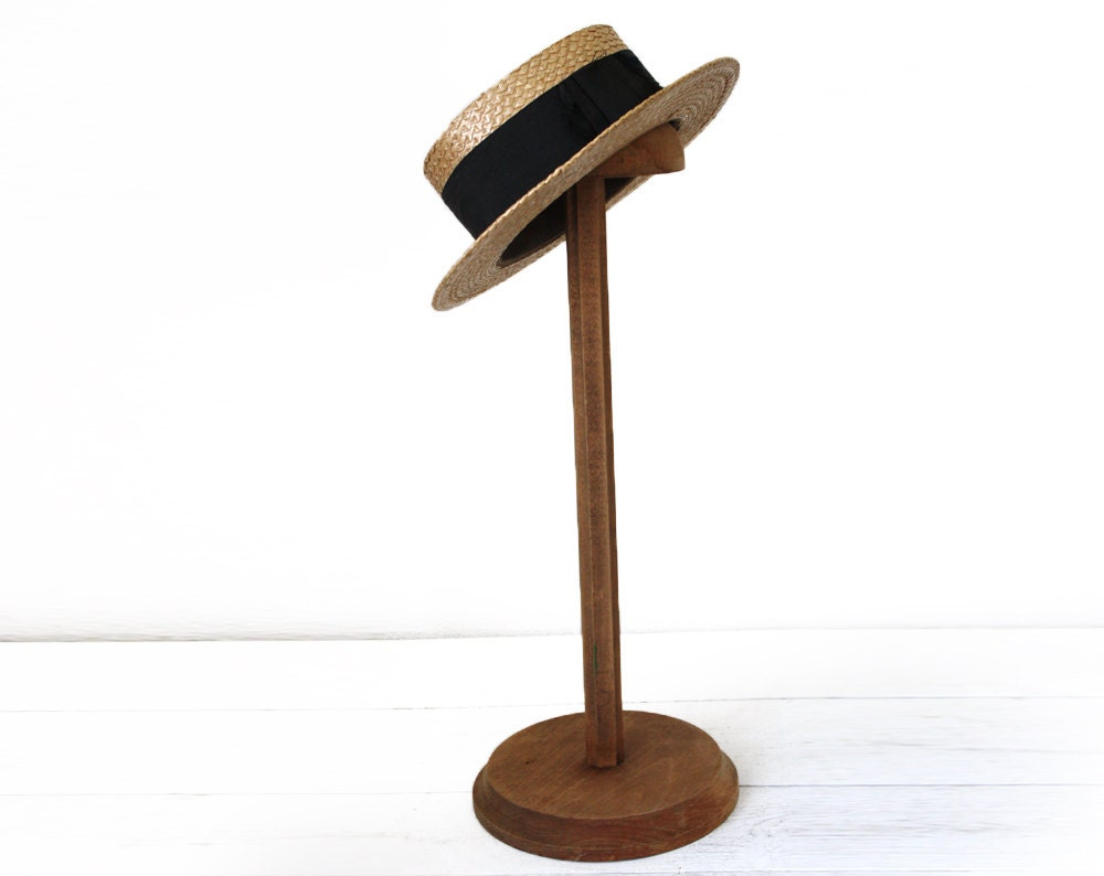 Exhibition Stand Vintage : Antique large french hat display stand wooden