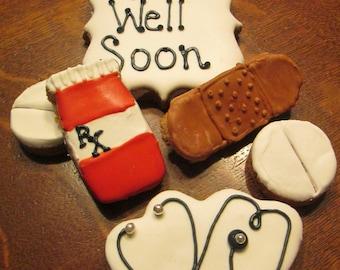 Get well soon Dog Treats