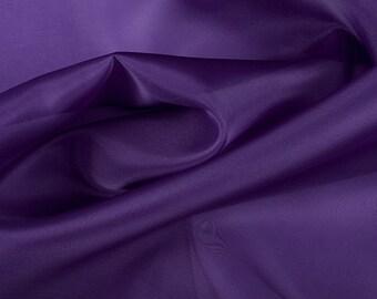 "45"" Wide 100% Silk Organza Purple by the yard"