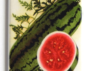 Watermelon Seed Packet Fridge Magnet