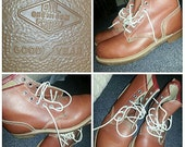 Leather Boots Goodyear Work Boot