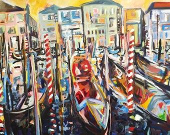 Boat Harbor Print