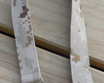 US Marines Safety Lanyard, Tan Marpat Print,  Military Safety Breakaway Lanyard, Made in the USA, Military Lanyard