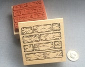 Rubber Stamp Brick Wall