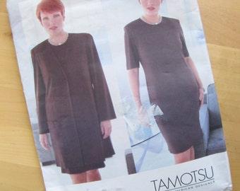 Uncut Vogue Sewing Pattern 2169 - Tamotsu - Women's Petite Jacket & Dress - Size 20W-24W