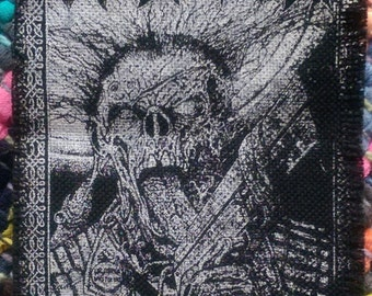 """ASSRASH """"Get Fucked Up"""" Patch [3 1/2"""" W x 5"""" L]"""