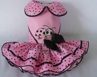 Dog dress. Little Bug by Poshdog. Tutu skirt.
