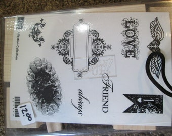 Retired Stampin' Up!  AFFECTION COLLECTION Stamp set