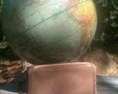 COACH COFFEE BROWN Cosmetic Bag