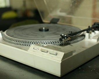 Vintage Record Player,  Realistic Record Player, 1960s Turntable, Old Record, Electronic Collectible